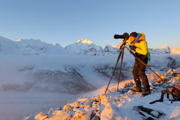 film majestics video montagne alpes samuel bitton